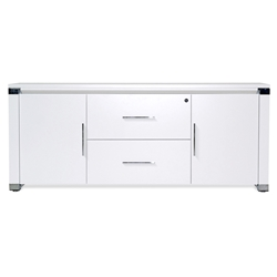 Copenhagen 500 Collection Modern Credenza in White