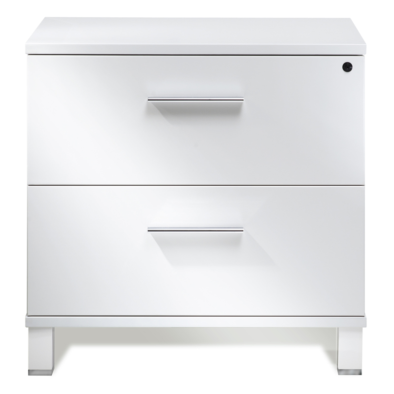 Beau Call To Order · Copenhagen Modern Lateral File Cabinet In White