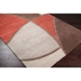 Cordova Rust Modern Contemporary Rug