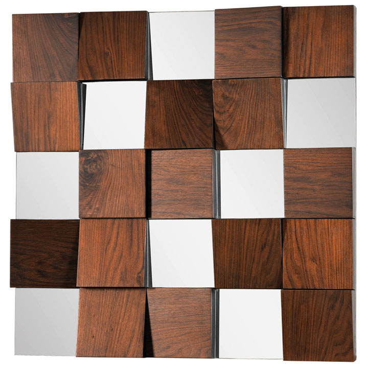 cubes contemporary mirror