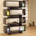 Cubic Bookcase in Cappuccino