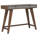 damascus console table