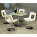 Darrell Adjustable Dining Chair - Off White
