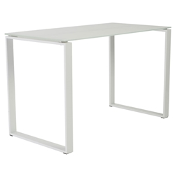 Didier modern desk in white