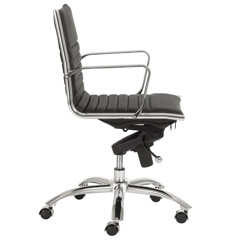 office chair side. Delighful Office Drake Low Back Office Chair  Side View On Office Chair Side I