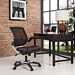 Ede Modern Office Chair in Brown - Room