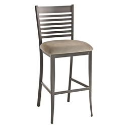 Edwin Bar Stool in Metallo by Amisco