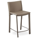 Ellis Modern Counter Stool in Gray