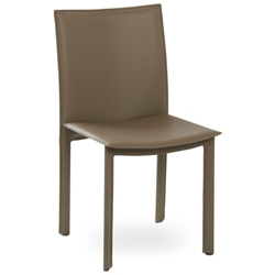 Ellis Modern Dining Chair in Gray