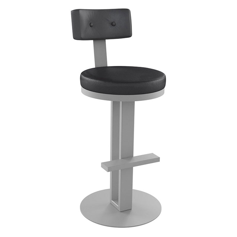 Empire Bar Stool in Dayglam and Ink by Amisco