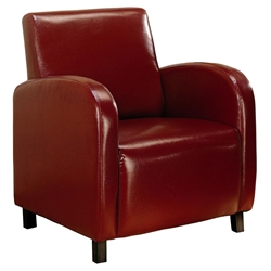 Felton Modern Chair in Red
