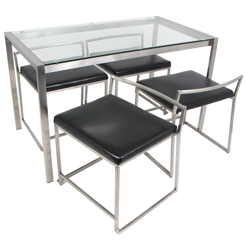 finland modern dining table set