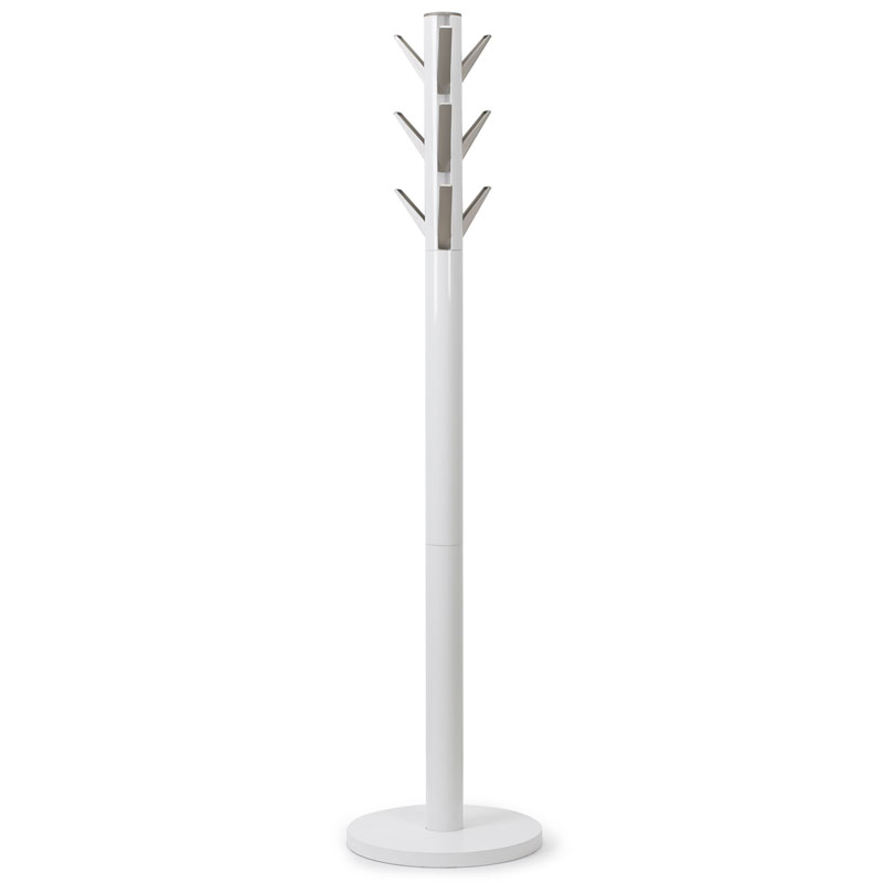 Modern Coat Racks Flapper White Coat Rack Eurway