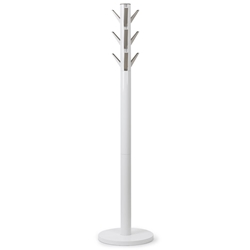 Flapper Coat Rack in White by Umbra