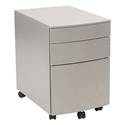 Floyd File Cabinet in Silver