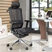 fortune executive office chair in black