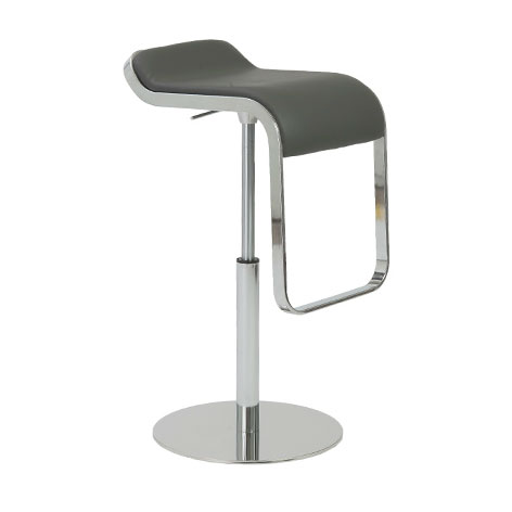 Fresno Bar/Counter Stool in Gray