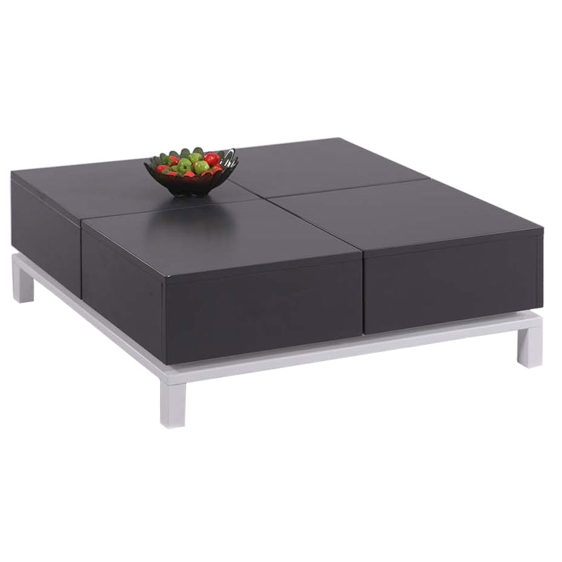 Greece storage cocktail table modern coffee table eurway Contemporary coffee tables with storage