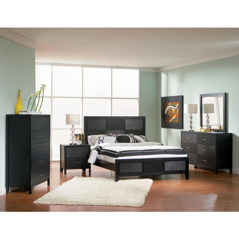 Ghent Contemporary Bed · Ghent Bedroom Collection