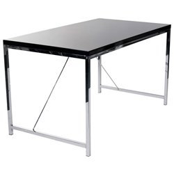 Gilbert Modern Desk in Black