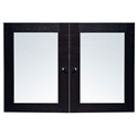 Sirius 100 Collection Glass Hutch Doors