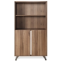 Gothenburg 300 Collection Bookcase in Walnut
