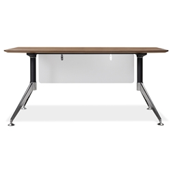 Gothenburg 63 Inch Modern Desk in Walnut