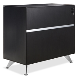 Gothenburg Modern Espresso Lateral File Cabinet