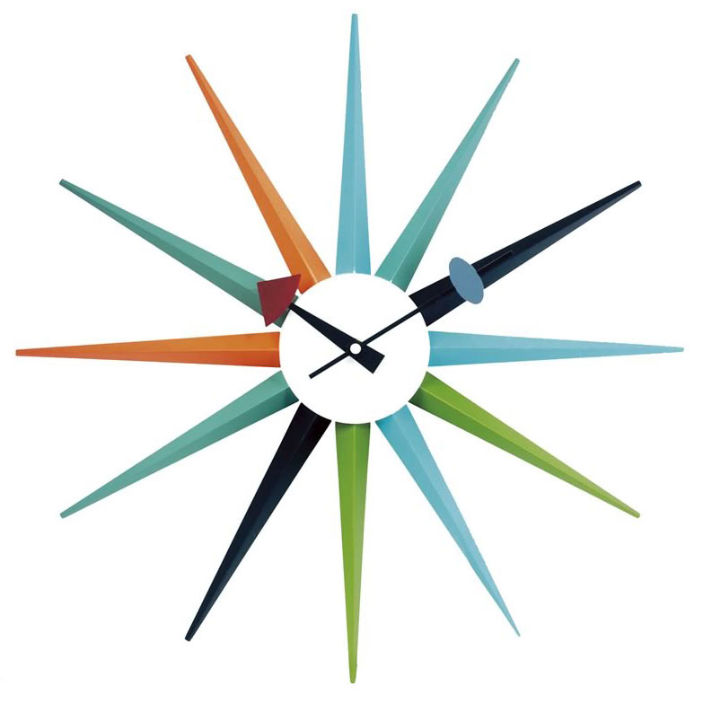 Hancock Wall Clock : Modern Wall Clocks : Eurway Furniture