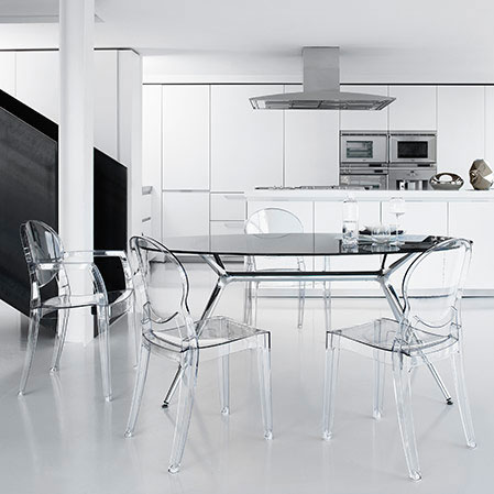 modern dining chairs | irwin clear arm chair | eurway