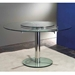 Italy Round Glass Dining Table