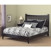 Johnston Platform Bed in Black - Room Setting