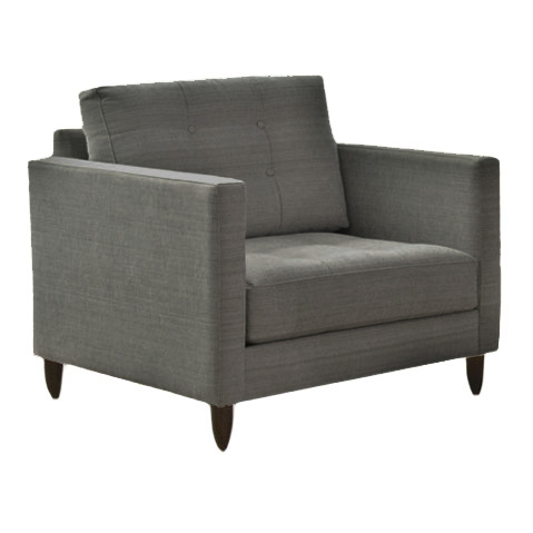 Jonathan Chair in Storm Gray