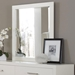 Jess Mirror in White