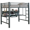 Karlstad Loft Bed and Workstation