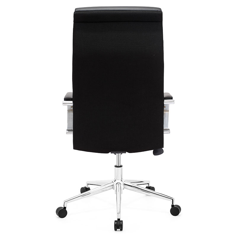 office chair back. lancaster office chair - back view