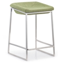 Lids counter stool in green