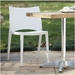 leon modern outdoor dining chair