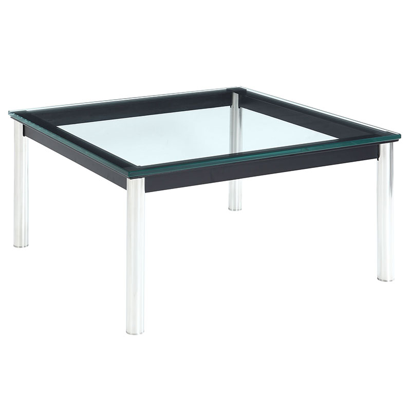 Levin 27 Inch Modern Square Cocktail Table