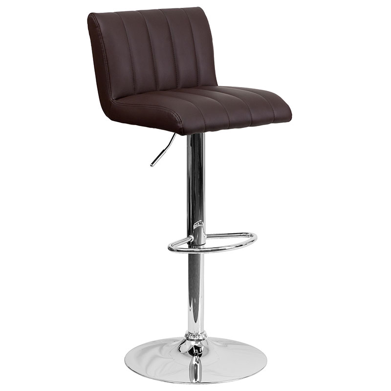 Lyon Barstool in Brown