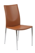 Marley Modern Cognac Dining Chair