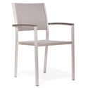 Metropolitan modern outdoor arm chair