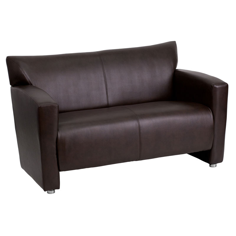 Modena Contemporary Reception Loveseat