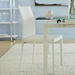 Morroco Side Chair in White