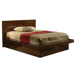Jess Contemporary Platform Bed