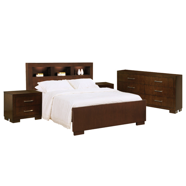 Jess Storage Platform Bedroom Set