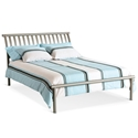 Nathan Modern Bed in Titanium