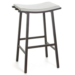 Nathan Modern Backless Bar Stool by Amisco