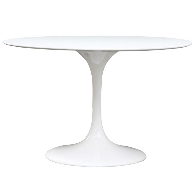 call to order odyssey 47 inch round dining table - Round White Dining Table