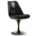 Odysey Black Modern Side Chair
